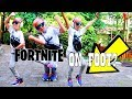 NIKE AIR MAX 270 Review & FORTNITE IRL On Foot!