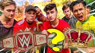 WER WIRD DER LATTEN KING?? | FUßBALL CHALLENGE