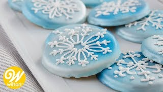 How to Make  Christmas Snowflake Cookies | Wilton