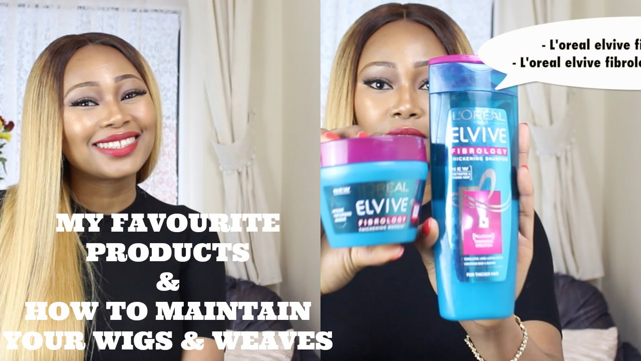 My Favourite Products How To Maintain Your Wigsweaves Youtube