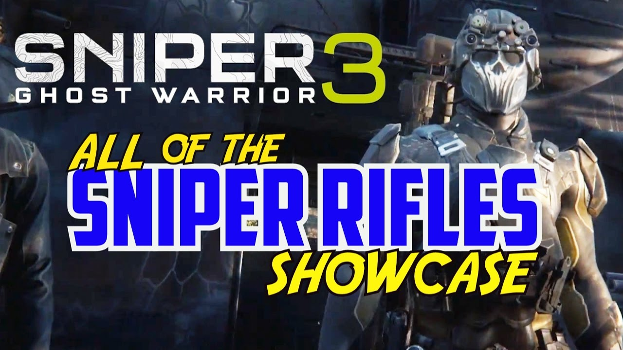 Download ALL SNIPER RIFLES SHOWCASE (In Depth) - Locations, Stats, & Shooting