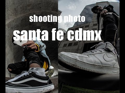 shooting photo URBEX en cdmx SANTA FE