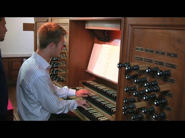 Trinity College Chapel - Jeremy Cole (Organ Scholar) plays Bach Ricercare à 6, BWV1079