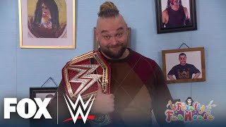 Bray Wyatt unveils his Universal Championship in the Firefly Fun House | WWE BACKSTAGE | WWE ON FOX