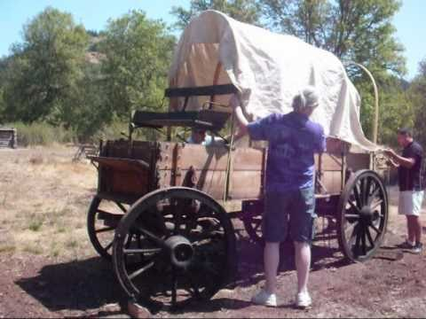 How To Make Covered Wagon Bows