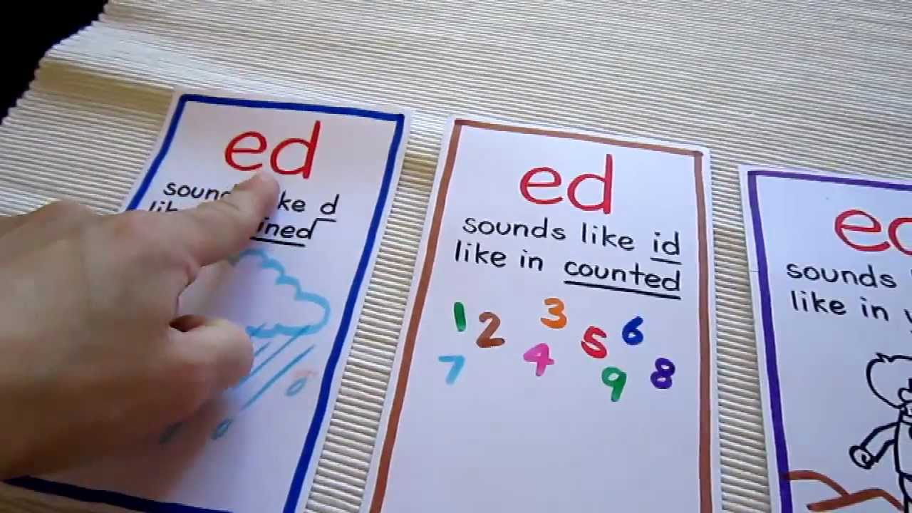 Grade 1 reading 3 different ed ending sounds youtube robcynllc Gallery