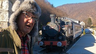 Bosnian man bought a real train