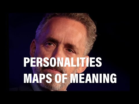 Interview with Professor Dr Jordan B Peterson on personalities and maps of meaning