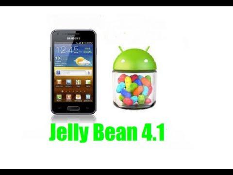 Actualizar Samsung Galaxy S Advance a Jelly Bean 4.1.2