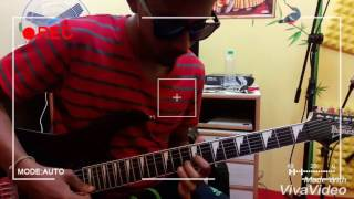 Guitar playthrough over soothsayer by buckethead   Improvisation