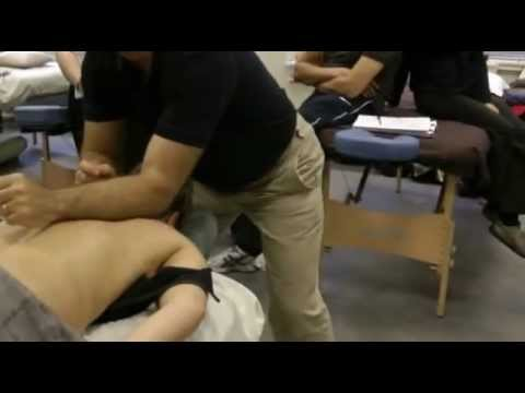 Deep tissue massage techniques