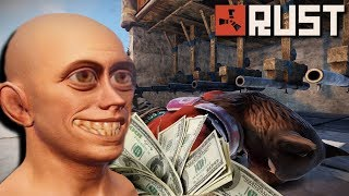 TOXIC KIDS Try To RUIN My TRAP BASE! | Rust