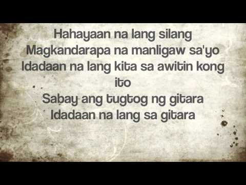 Gitara - Parokya Ni Edgar Cover By JB (with Lyrics)