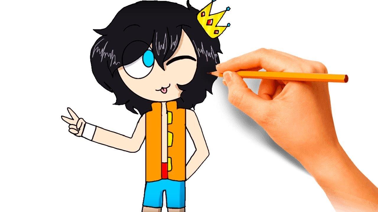 Como Dibujar A Trollino De Los Compas Tutorial Dibujo
