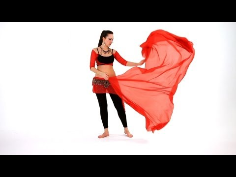 How to Sway with a Veil | Belly Dance