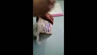 Борьба со скотчем в почтовом отделении   распаковка ценной посылки с цифровым фотоаппаратом COOLPIX
