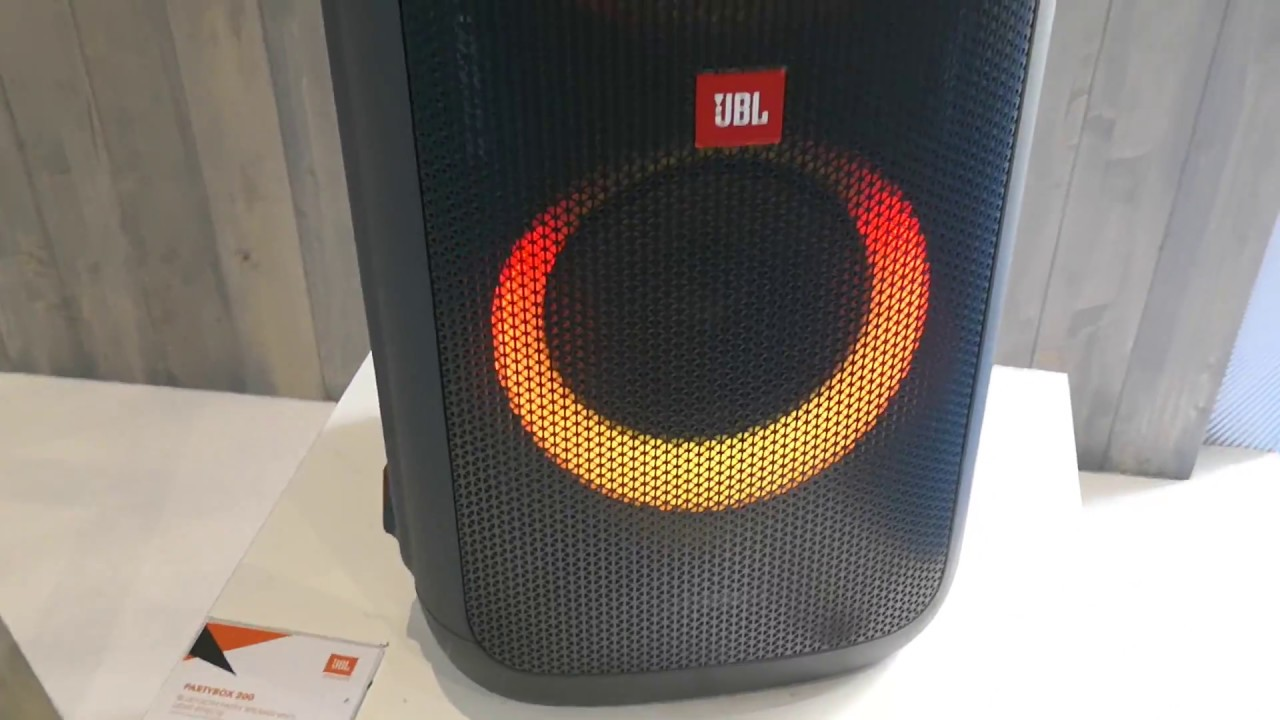 6d5abc0e25a JBL Partybox giant portable Bluetooth speaker - YouTube
