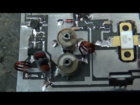 10 mW Giriş 50 Watt Çıkış FM Verici - 10 miliwatt input 50 watt output fm transmitter