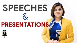 SPEECHES and PRESENTATIONS - Difference, tips, and tricks — Pep Talk India