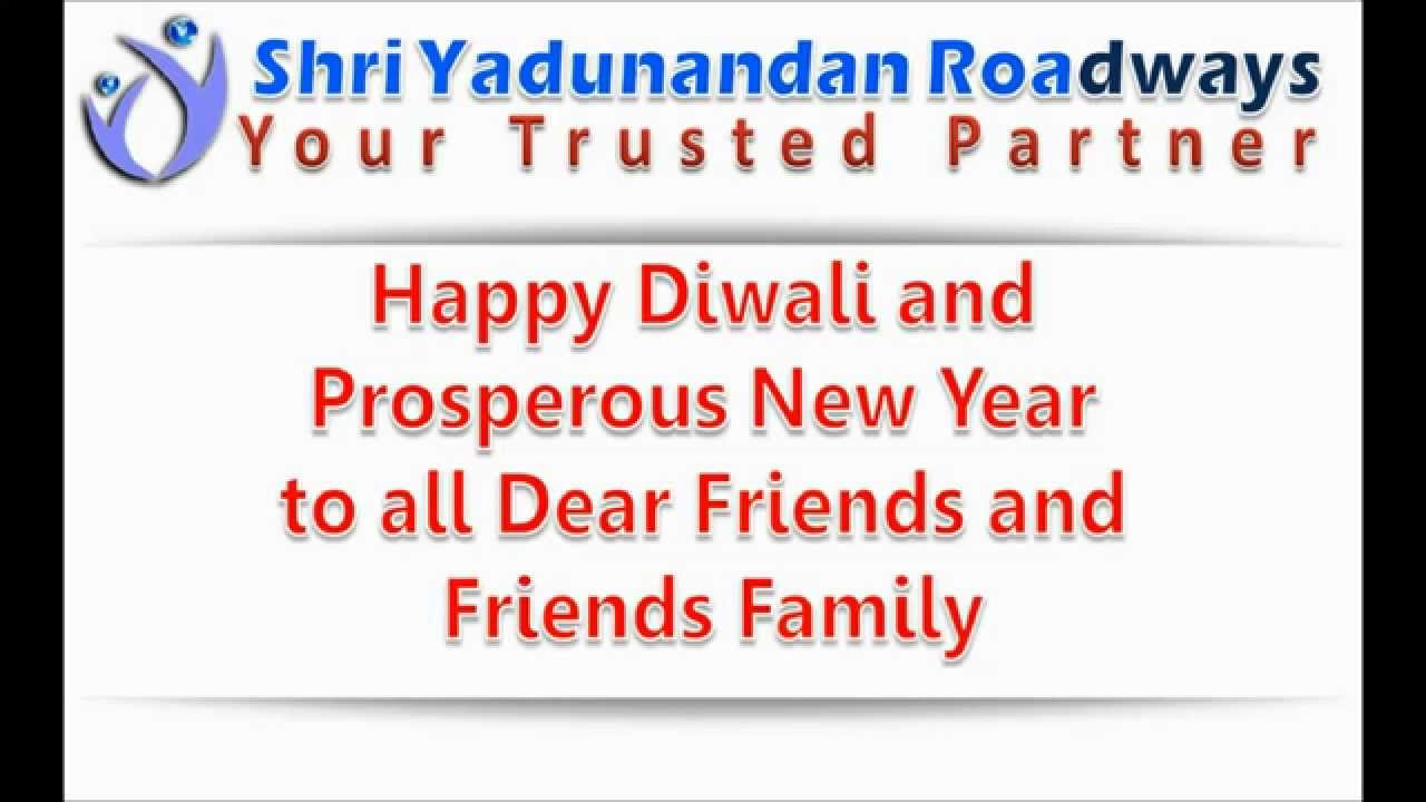 Happy Diwali and Prosperous New Year To all Dear Friends And Friends ...