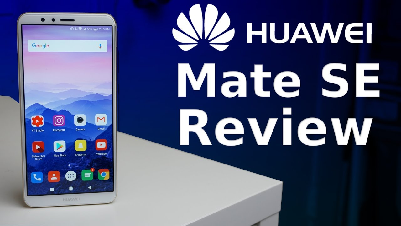 huge selection of c2e5c dc181 Huawei Mate SE Review: Best Budget Phone Of 2018?