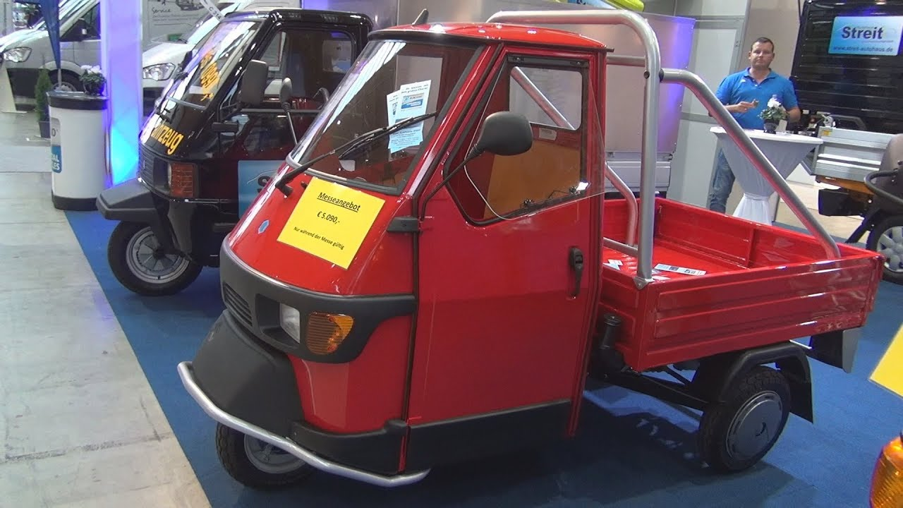Piaggio Ape 50 Cross Country 2018 Exterior And Interior Youtube