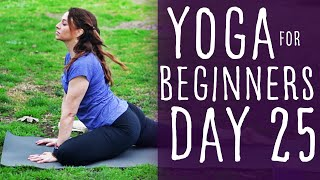 30 Minute Yoga For Beginners 30 Day Challenge Day 25 with Fightmaster Yoga
