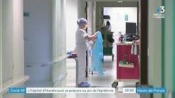 Coronavirus : le centre hospitalier d'Hazebrouck prêt en cas de tsunami