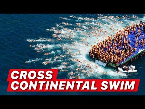 How I Swam From Asia To Europe | Bosphorus Cross Continental Swim (Boğaziçi Kıtalararası Yüzme)