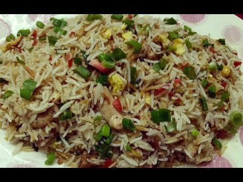 Chicken Fried Rice | Restaurant Style | Indo Chinese Recipe |  Quick Recipe