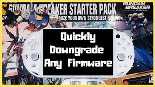 How to Quickly Downgrade Any PS Vita Firmware - Tutorial Video