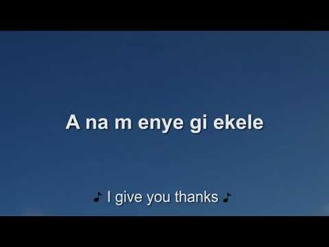 Download SINACH. Ft Nolly- omemma eh-Lyrics