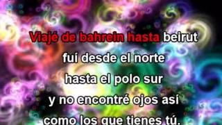 Ojos Asi, con letra - Shakira karaoke