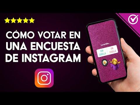 Cómo Hago para Votar en una Encuesta de Instagram y ver o Compartir los Resultados