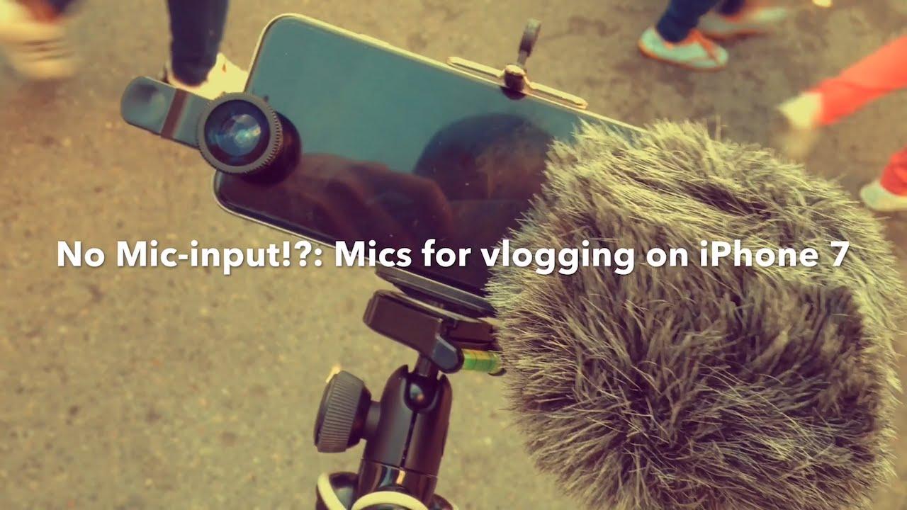 youtube iphone microphone