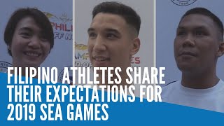 Filipino Athletes Share Their Expectations For 2019 Sea Games