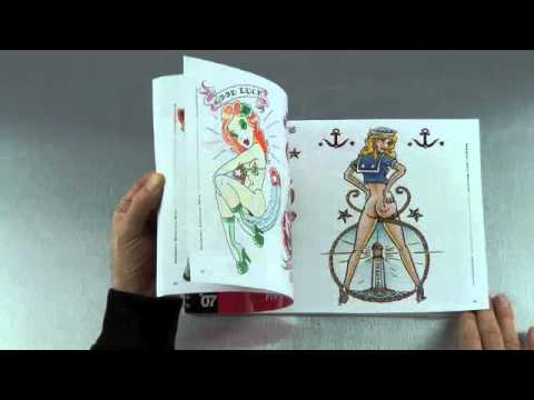 Pin Up Tattoo Flash Book
