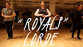 Royals Lorde Choreography by Derek Mitchell at Broadway Dance Center