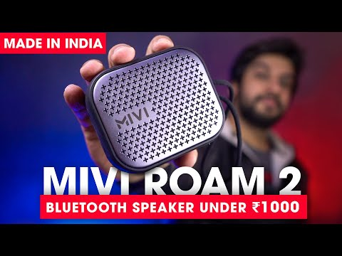 Best Bluetooth Speaker Under ₹1000 ⚡ Mivi Roam 2 Review + SOUND TEST! (Hindi)