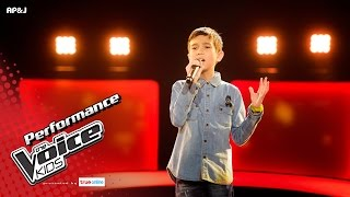 เจฟฟรี่ - Listen - Blind Auditions - The Voice Kids Thailand - 23 Apr 2017