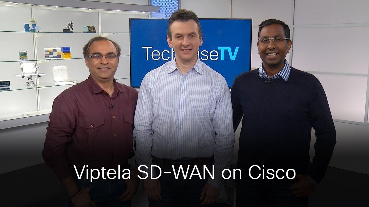 Integrating Viptela SD-WAN onto Cisco IOS-XE on TechWiseTV