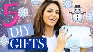 5 Holiday DIY Christmas Gifts | Bethany Mota