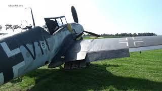 "Messerschmitt Bf-109 G-5 15343 ex-5./JG 53 ""Black 11 Wings of Freedom Airshow Ede 21-8-2019"