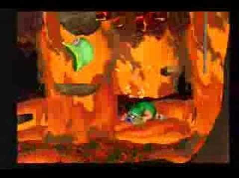 Tomba! - Green Evil Pig (Boss)