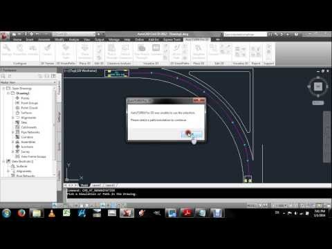 Highway Design Autocad Civil 3D (Creation of Islands and Turning Lanes at Intersections)