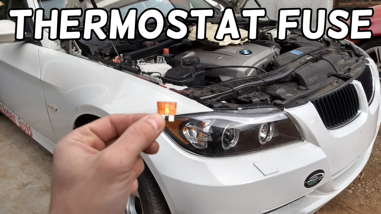 bmw overheating thermostat fuse location and replacement. Black Bedroom Furniture Sets. Home Design Ideas