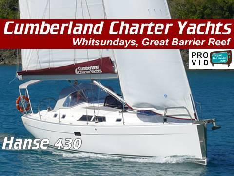 Whitsunday Bareboats Whitsundays Hanse 430 Lady Fay Cumberland Charter  Yachts