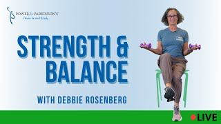 Power for Parkinson's Strength & Balance Live Streaming Day 329