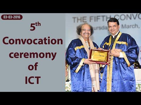 CM Shri Devendra Fadnavis addresses 5th Convocation ceremony of Institute of Chemical Technology