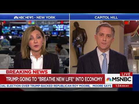 Rep. Hill Discusses Tax Reform with Chris Jansing on MSNBC